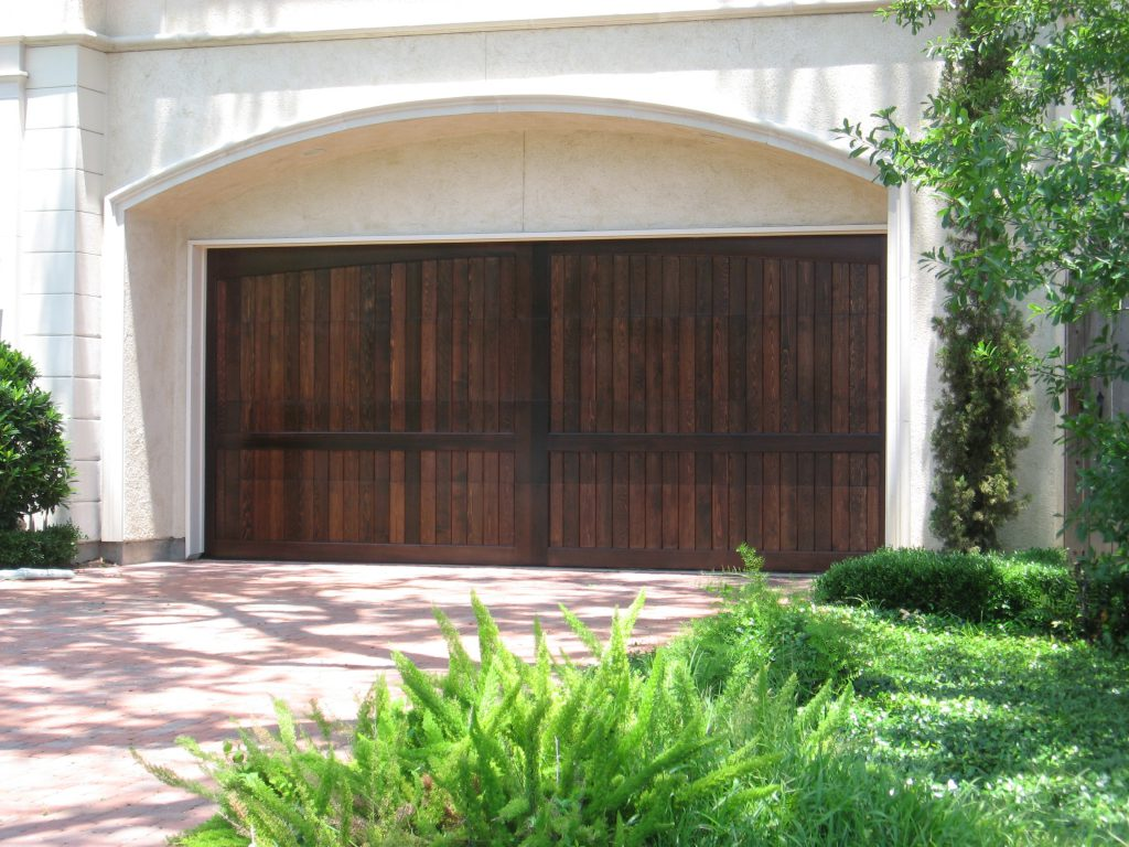 Custom wood doors overhead door company of dallas for Custom wood doors